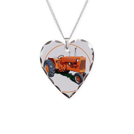 AC-D17-C3trans Necklace Heart Charm