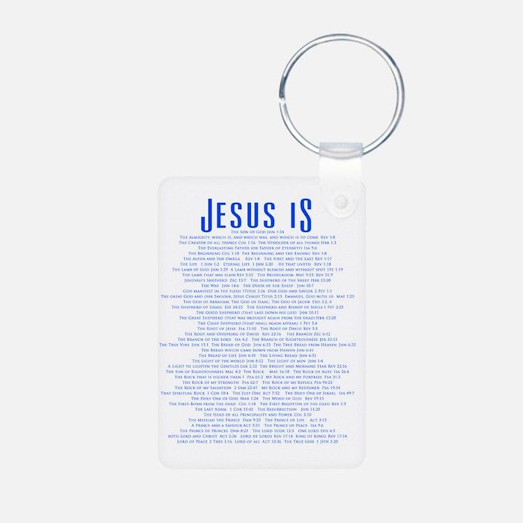 JesusLORDBACKBLUE Keychains