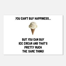 Ice Cream Postcards (Package of 8)