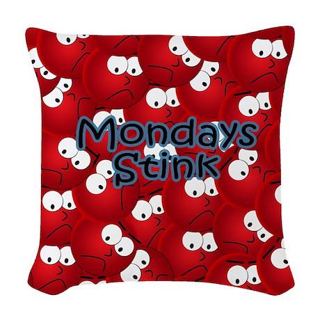 mousecrazy Woven Throw Pillow