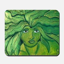 Greenwoman1 Mousepad