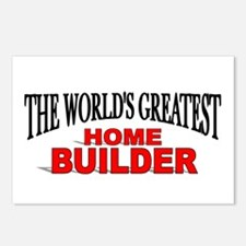 """""""The World's Greatest Home Builder"""" Postcards (Pac"""