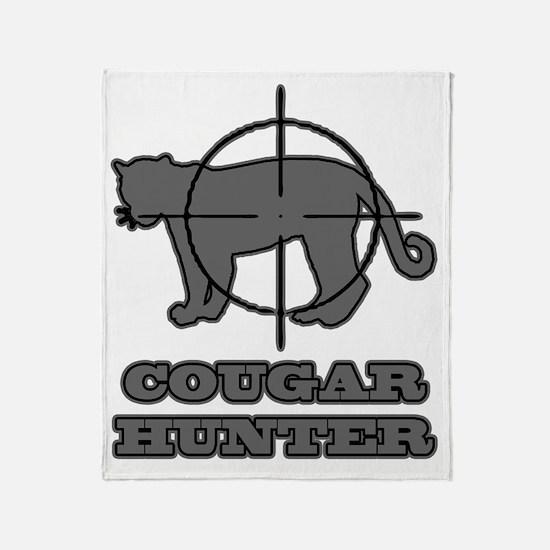 cougar2 Throw Blanket