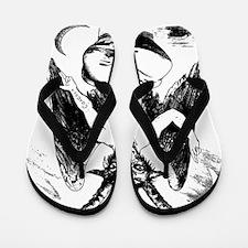 Baphomet Flip Flops