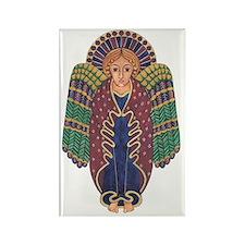 Celtic Angel Rectangle Magnet