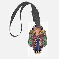 Celtic Angel Luggage Tag