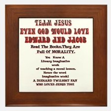 2-Loves JesusToo!2 Framed Tile