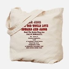 2-Loves JesusToo!2 Tote Bag