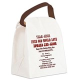 Twilight Canvas Lunch Bag