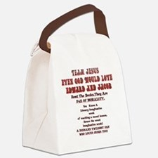 2-Loves JesusToo!2 Canvas Lunch Bag