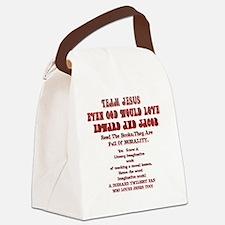 2-Loves JesusToo!2 Canvas Lunch Bag