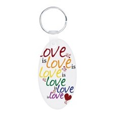 love is love Keychains