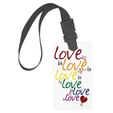 love is love Luggage Tag