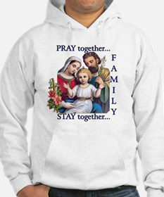 pray_together_12x12-clear Hoodie