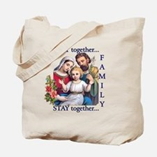pray_together_12x12-clear Tote Bag