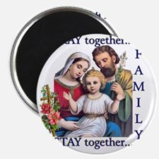 pray_together_12x12-clear Magnet