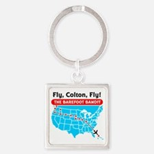 fly_colton Square Keychain