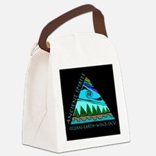 221mp AS triangle Canvas Lunch Bag