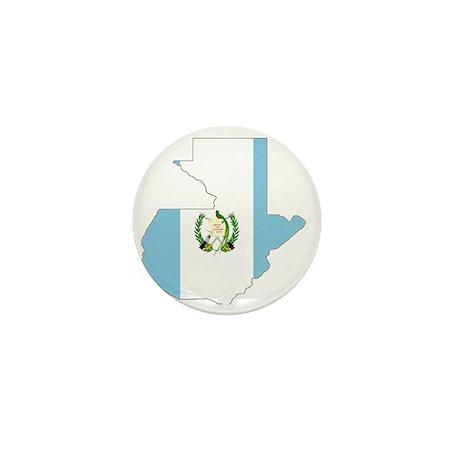 Guatemala_mapflag Mini Button