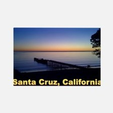 Sunset-At-Seacliff-Beach-DONE-5 Rectangle Magnet