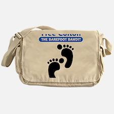 colton-footprints Messenger Bag