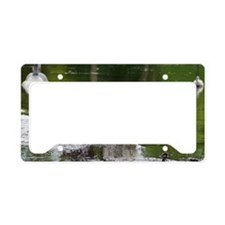 w page License Plate Holder
