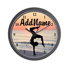 GYMNAST 10.0 Wall Clock