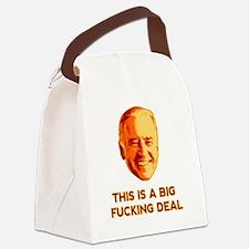 biden2 Canvas Lunch Bag