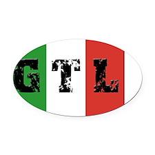 GTL Oval Car Magnet
