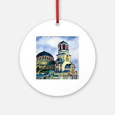 bulgaria4 Round Ornament