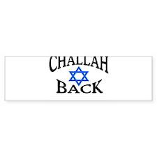 CHALLAH BACK T-SHIRT SHIRT JE Bumper Car Sticker