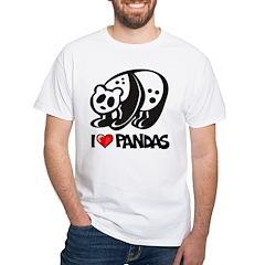 I Love Pandas Shirt