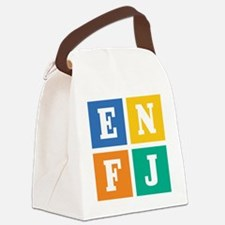 enfj Canvas Lunch Bag