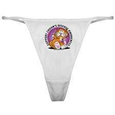 Crohns-Disease-Cat Classic Thong