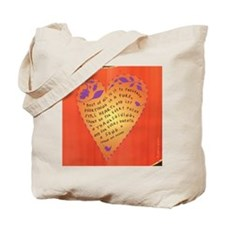 Thanksgiving note card Tote Bag
