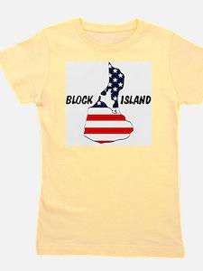 Block Island USA Girl's Tee