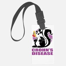 Crohns-Disease-Stinks-blk Luggage Tag