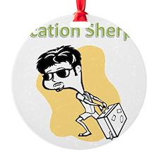vacation_sherpa Ornament