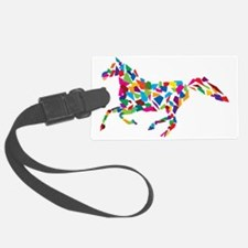 Running Horse Luggage Tag