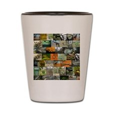 Bronx zoo montage Shot Glass