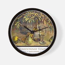 ChardSymp_Shirt_border_Cafe Wall Clock