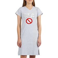 gfa-nade-white23 Women's Nightshirt