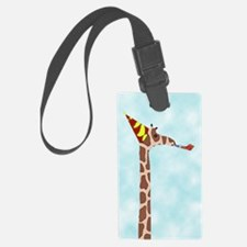 birthdaygiraffecloseup Luggage Tag