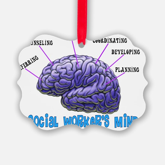 A Social Workers Mind Ornament