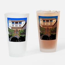 Alhambra in Granada Drinking Glass