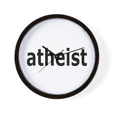 Atheist Wall Clock