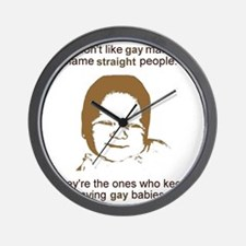 2-GayMarriage Wall Clock