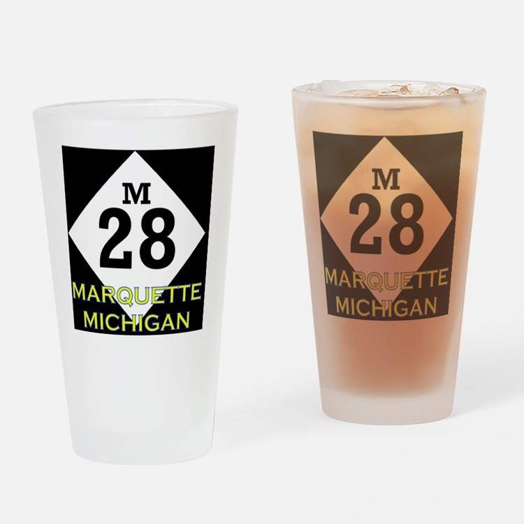 M28marquette Drinking Glass