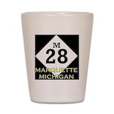 M28marquette Shot Glass