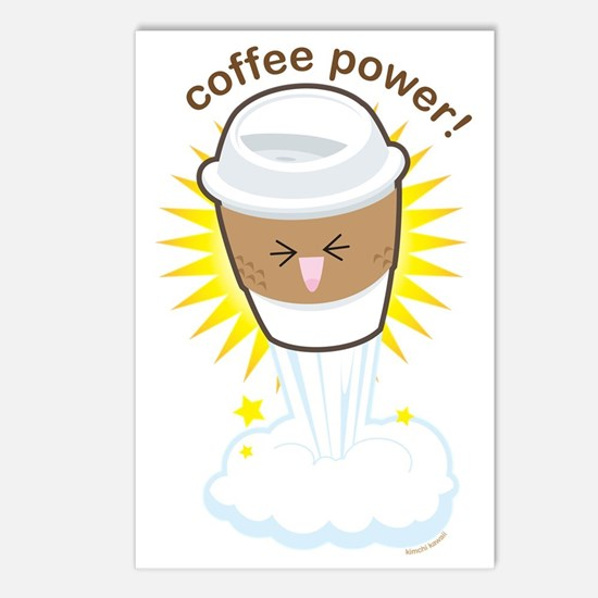 Coffee-power Postcards (Package of 8)